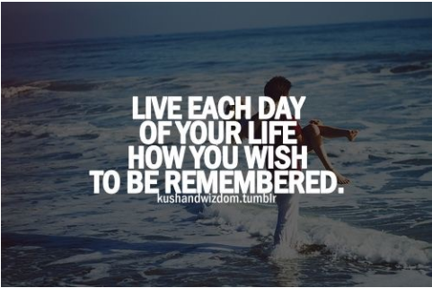 life each day of your life with purpose
